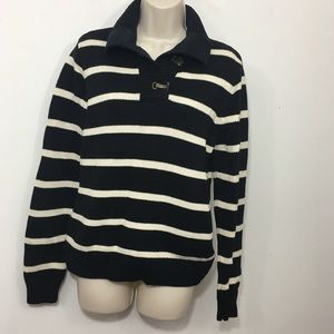 Ralph Lauren jeans women's striped cotton sweater